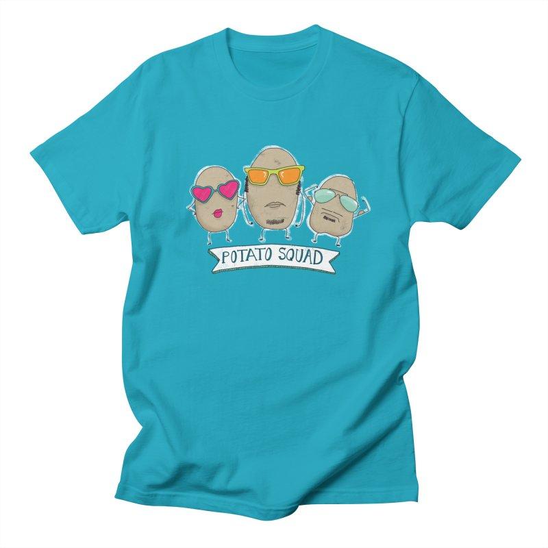 Potato Squad Men's Regular T-Shirt by Potato Wisdom's Artist Shop