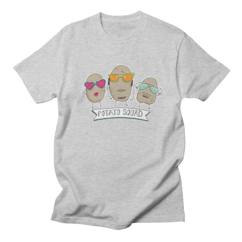 Potato Squad Women's Regular Unisex T-Shirt by Potato Wisdom's Artist Shop