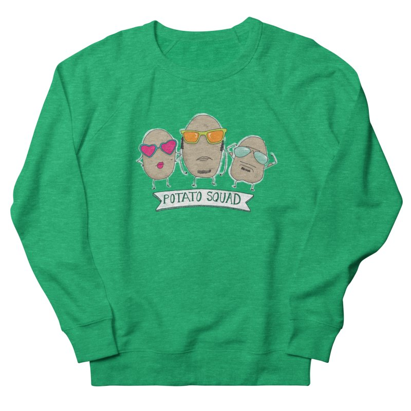 Potato Squad Women's Sweatshirt by Potato Wisdom's Artist Shop