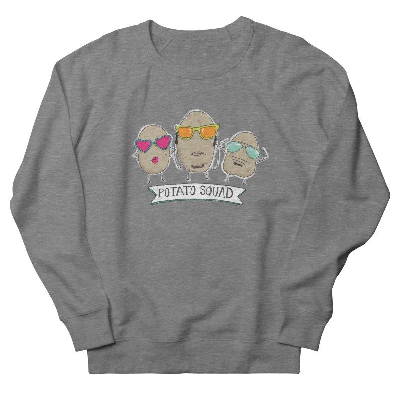 Potato Squad Men's French Terry Sweatshirt by Potato Wisdom's Artist Shop