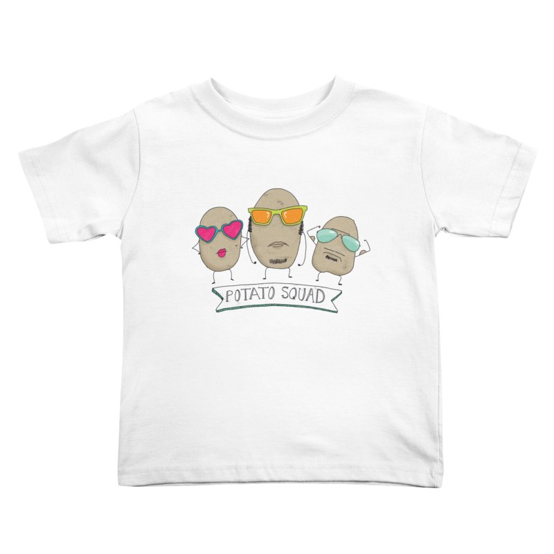 Potato Squad Kids Toddler T-Shirt by Potato Wisdom's Artist Shop