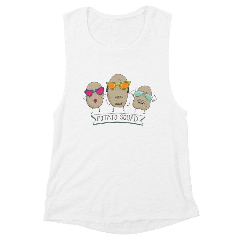 Potato Squad Women's Tank by Potato Wisdom's Artist Shop