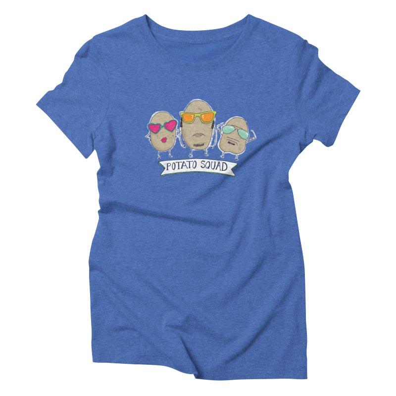 Potato Squad Women's T-Shirt by Potato Wisdom's Artist Shop