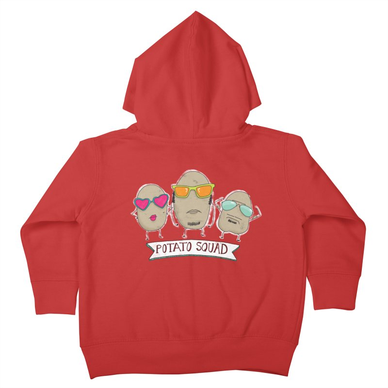 Potato Squad Kids Toddler Zip-Up Hoody by Potato Wisdom's Artist Shop