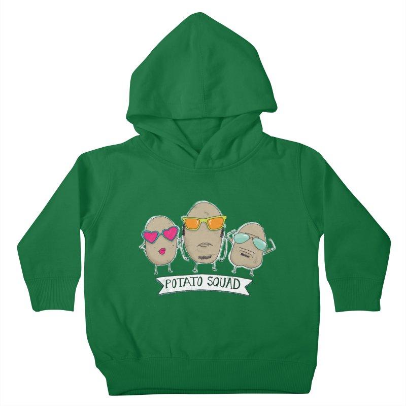 Potato Squad Kids Toddler Pullover Hoody by Potato Wisdom's Artist Shop
