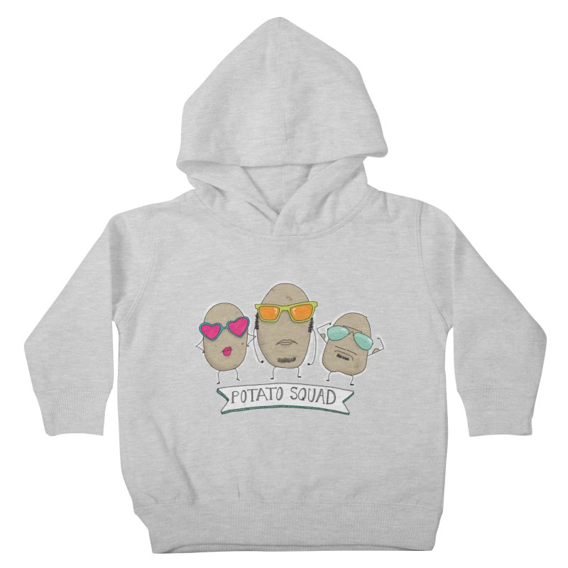 Potato Squad Kids Toddler Pullover Hoody by Potato Wisdom's Artist Shop