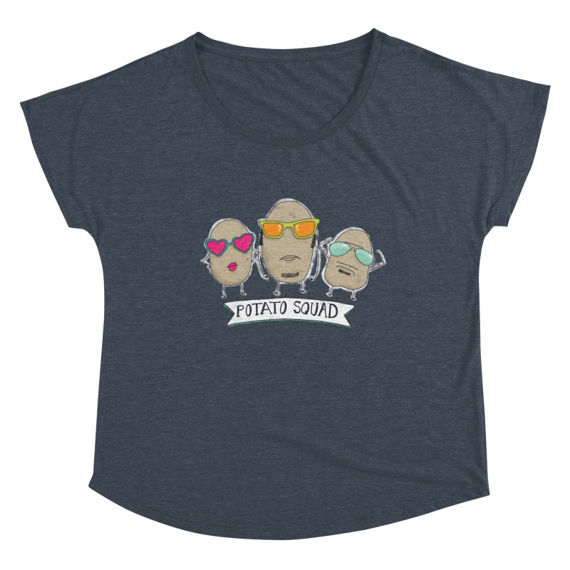 Potato Squad Women's Scoop Neck by Potato Wisdom's Artist Shop
