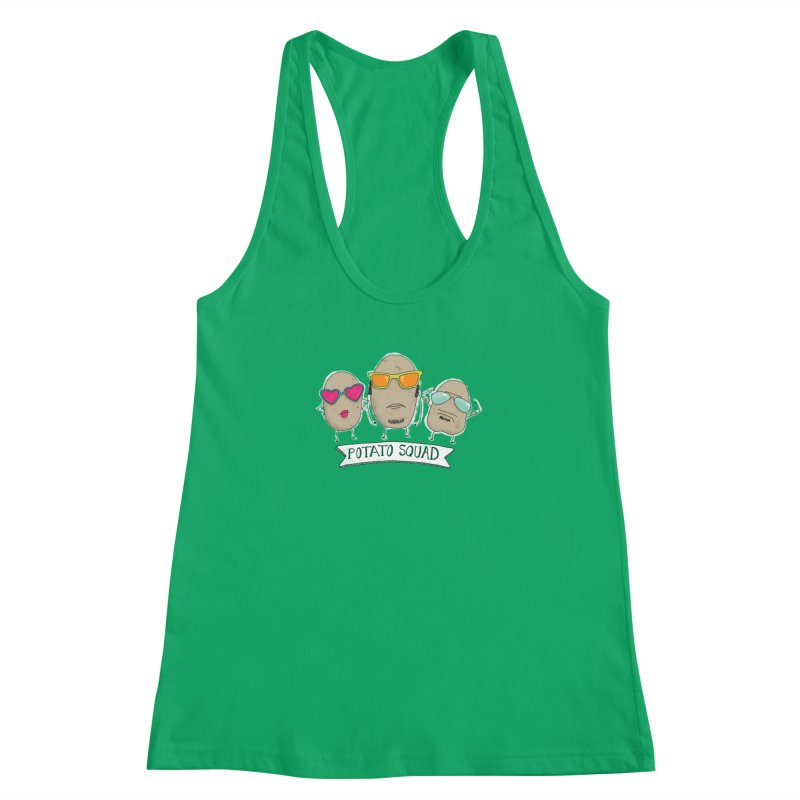 Potato Squad Women's Tank by Potato Wisdom's Artist Shop