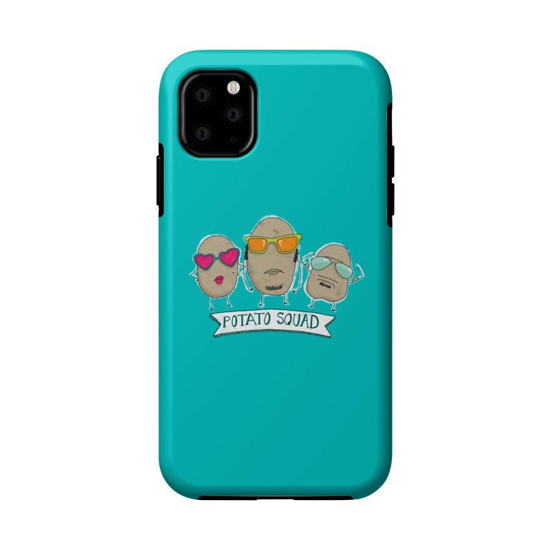 Potato Squad Accessories Phone Case by Potato Wisdom's Artist Shop