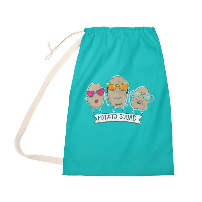 Potato Squad Accessories Bag by Potato Wisdom's Artist Shop
