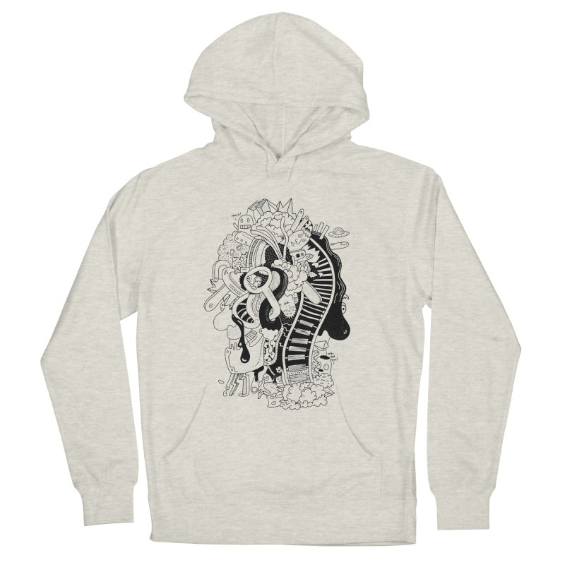 Your head is a beautiful mess Men's Pullover Hoody by BANANODROMO