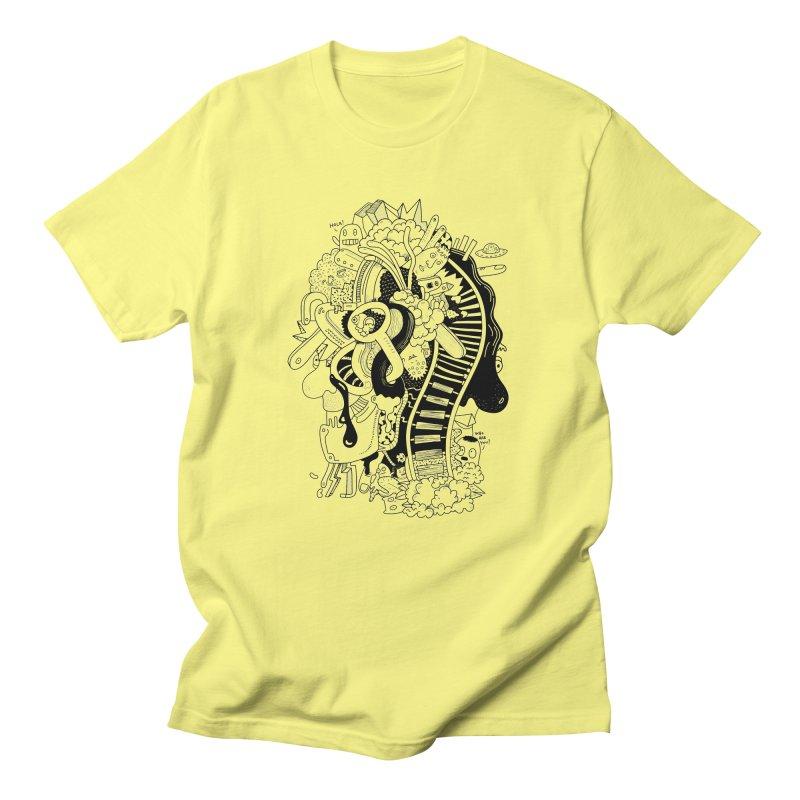 Your head is a beautiful mess Men's T-Shirt by BANANODROMO