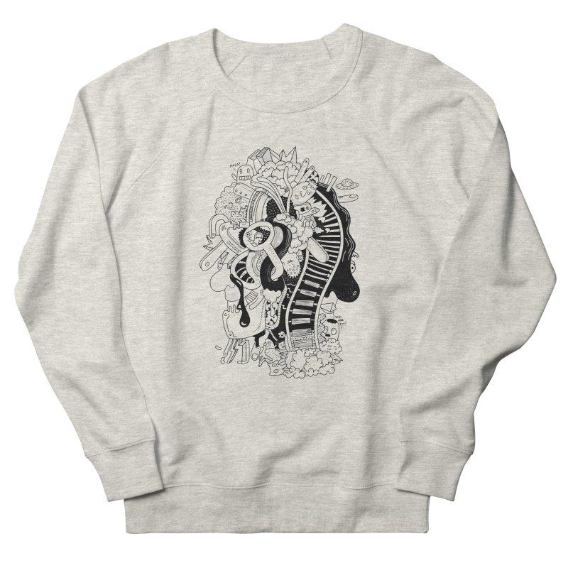 Your head is a beautiful mess Women's Sweatshirt by BANANODROMO