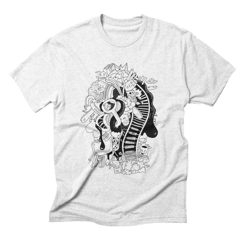 Your head is a beautiful mess Men's Triblend T-shirt by BANANODROMO