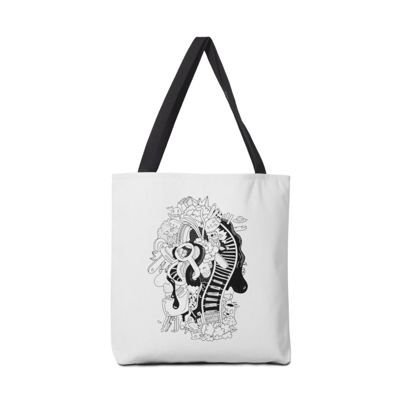 Your head is a beautiful mess Accessories Bag by BANANODROMO