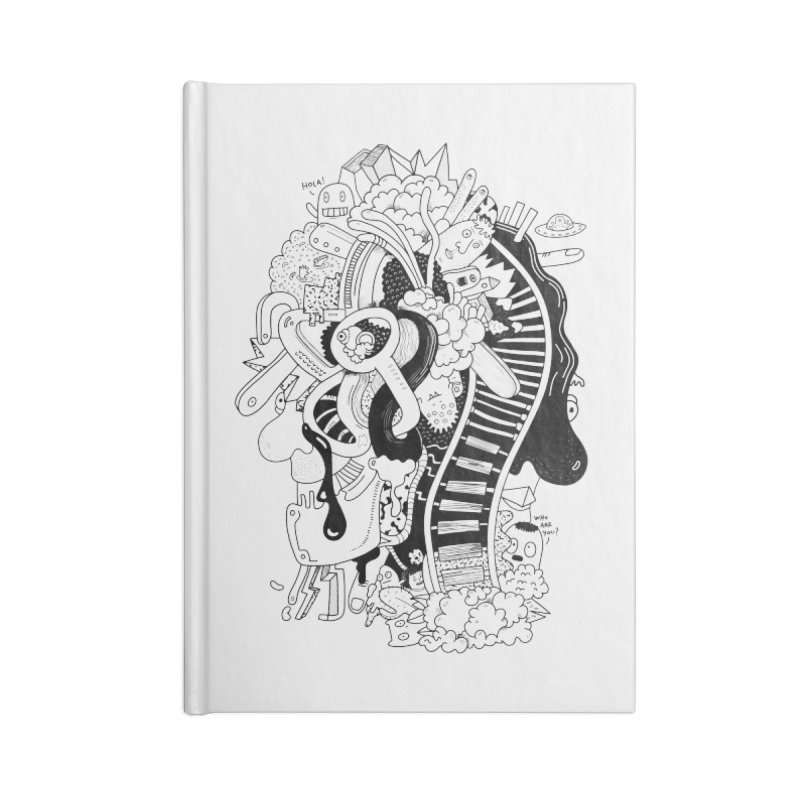 Your head is a beautiful mess Accessories Notebook by BANANODROMO