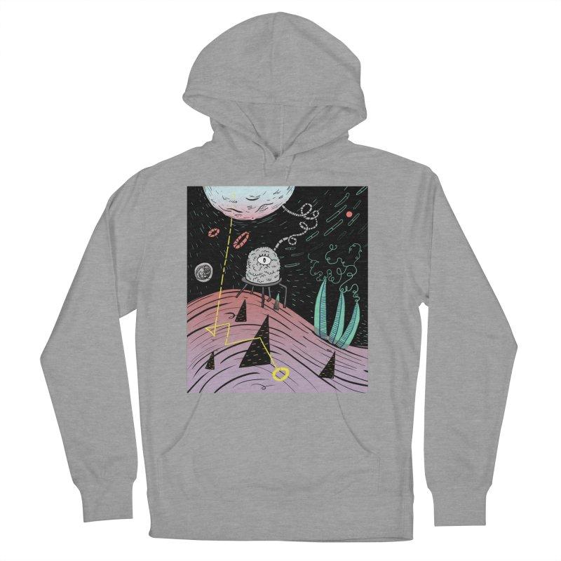 Superboles H4: a space adventure Men's Pullover Hoody by BANANODROMO