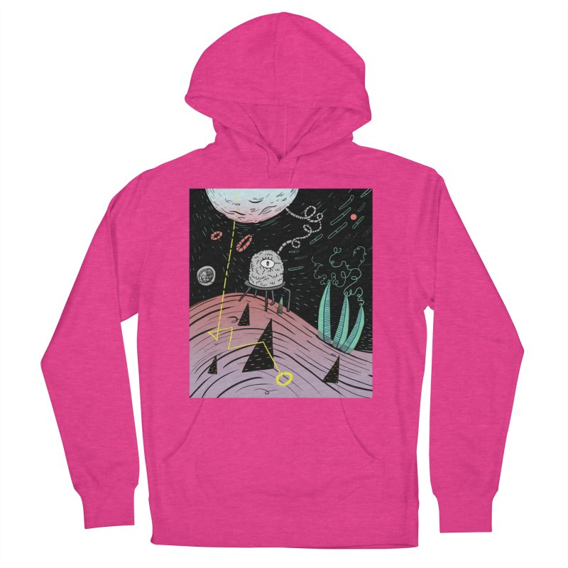 Superboles H4: a space adventure Men's Pullover Hoody by BANANODROMO
