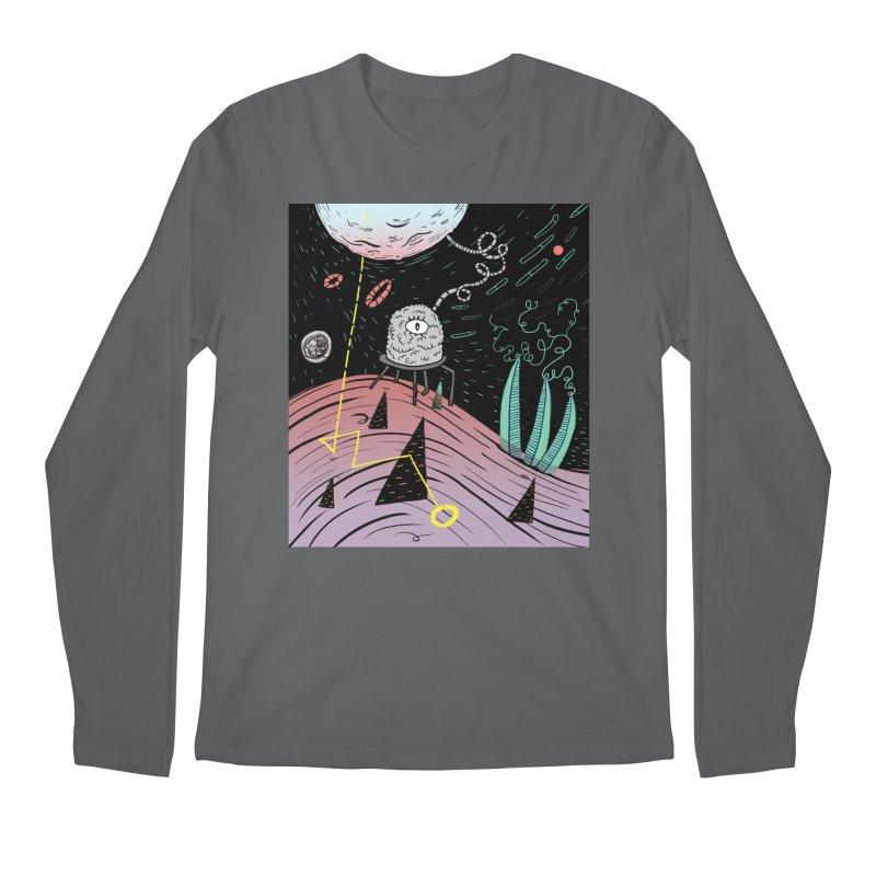 Superboles H4: a space adventure Men's Longsleeve T-Shirt by BANANODROMO
