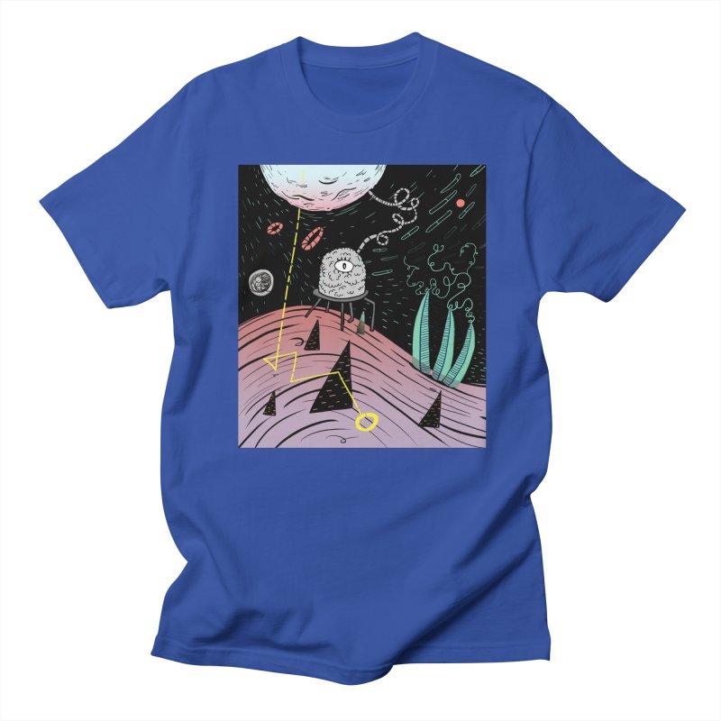 Superboles H4: a space adventure Men's T-Shirt by BANANODROMO