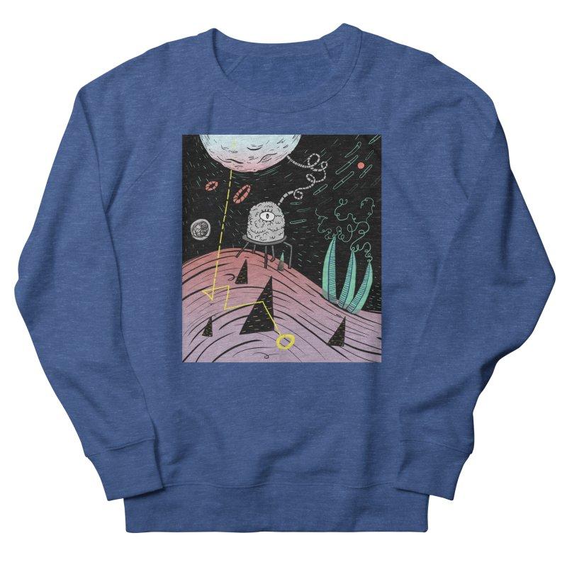 Superboles H4: a space adventure Men's Sweatshirt by BANANODROMO