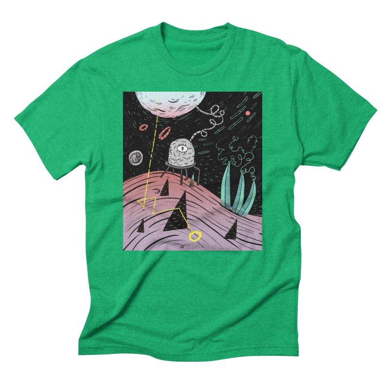 Superboles H4: a space adventure Men's Triblend T-Shirt by BANANODROMO