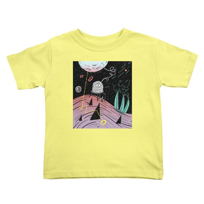 Superboles H4: a space adventure Kids Toddler T-Shirt by BANANODROMO