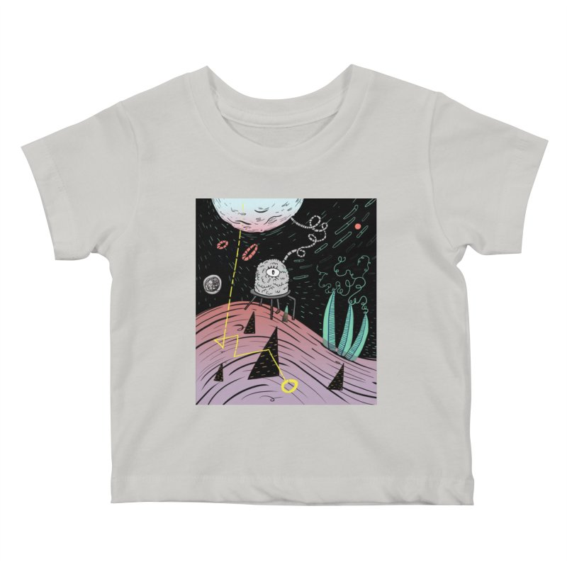 Superboles H4: a space adventure Kids Baby T-Shirt by BANANODROMO