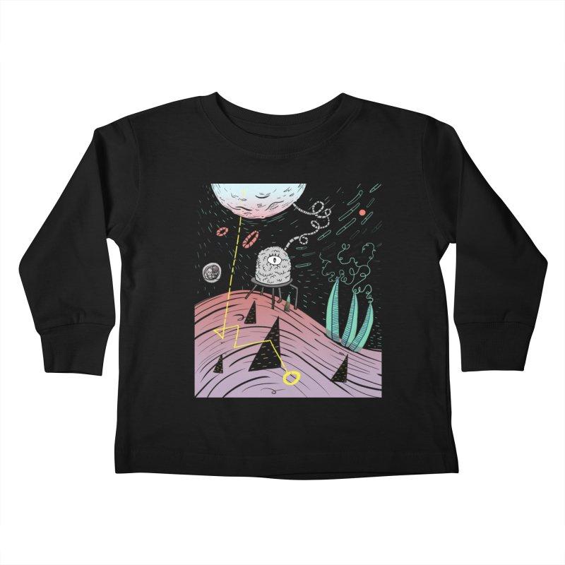 Superboles H4: a space adventure Kids Toddler Longsleeve T-Shirt by BANANODROMO