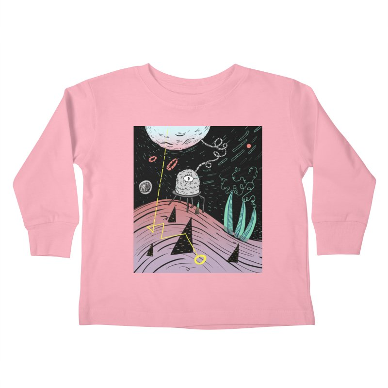 Superboles H4: a space adventure Kids Toddler Longsleeve T-Shirt by BANANODROMO