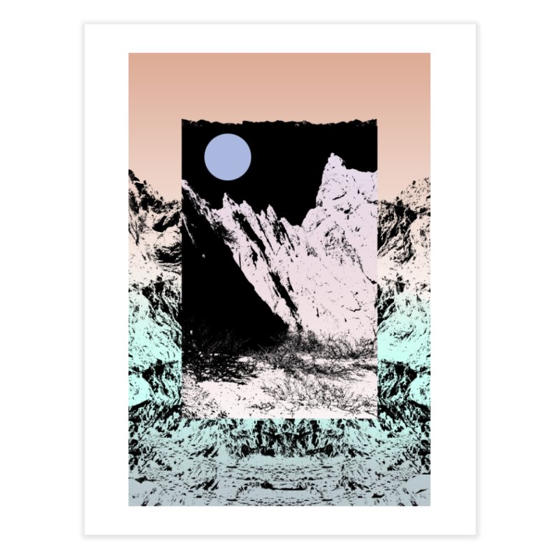 Not every circle is a planet. Home Fine Art Print by BANANODROMO
