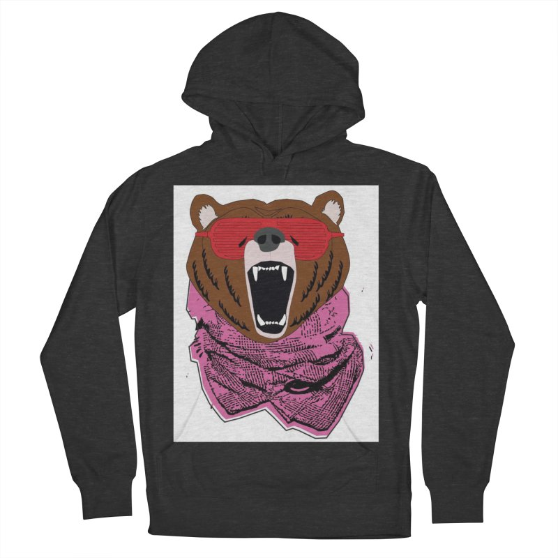 bear with shades Women's Pullover Hoody by bansom12's Artist Shop