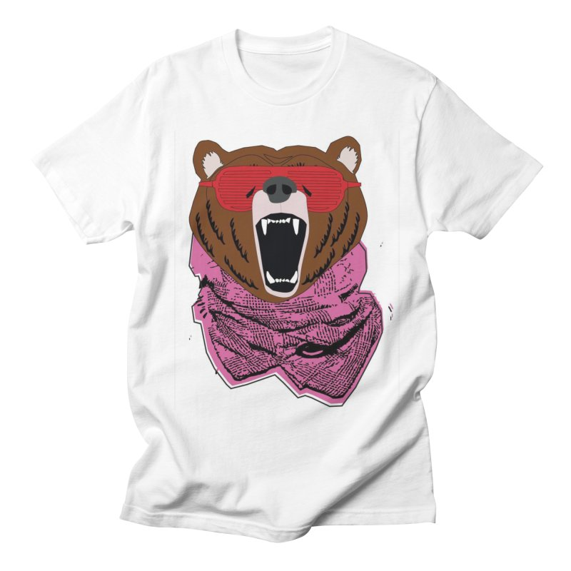 bear with shades Women's Unisex T-Shirt by bansom12's Artist Shop