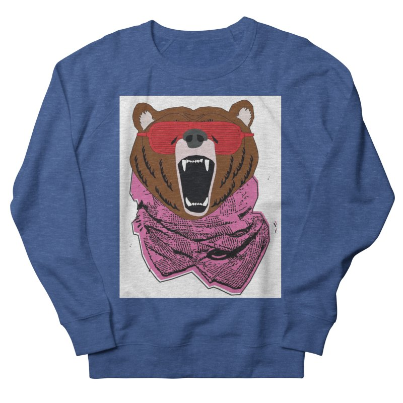 bear with shades Men's Sweatshirt by bansom12's Artist Shop