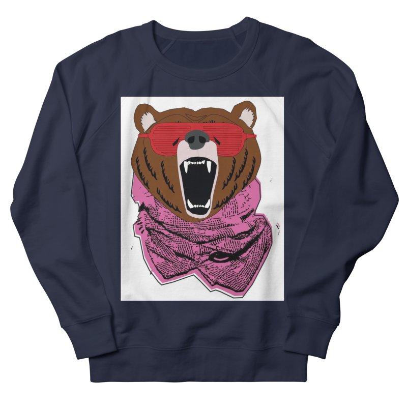 bear with shades Men's Sweatshirt by bansom12's Artist Shop
