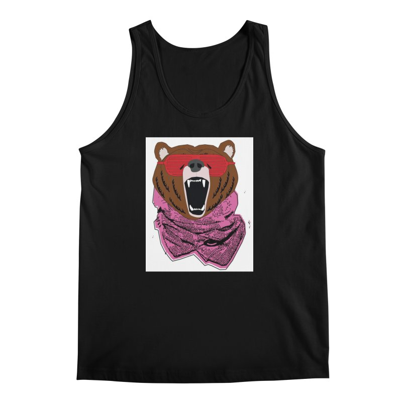 bear with shades Men's Tank by bansom12's Artist Shop