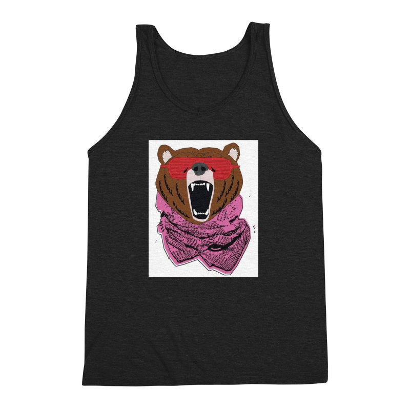 bear with shades Men's Triblend Tank by bansom12's Artist Shop