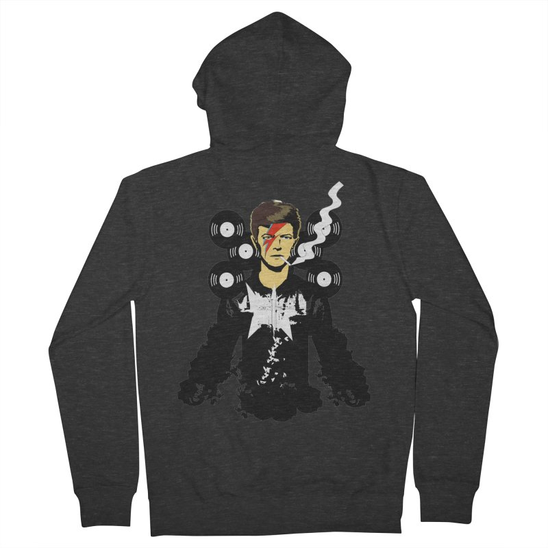Star Man  Men's Zip-Up Hoody by bansom12's Artist Shop
