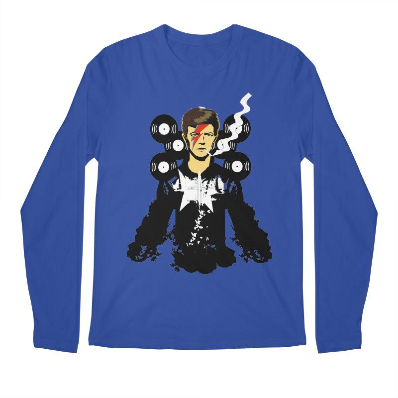 Star Man  Men's Longsleeve T-Shirt by bansom12's Artist Shop