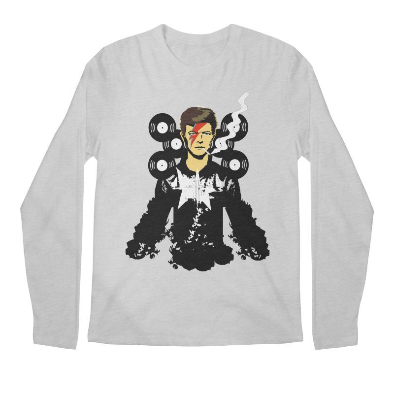 Star Man  Men's Longsleeve T-Shirt by bansom12's Artist Shop