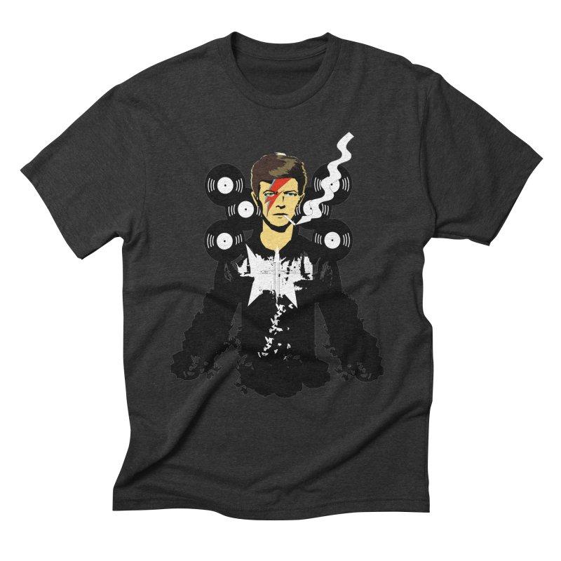 Star Man  Men's Triblend T-Shirt by bansom12's Artist Shop
