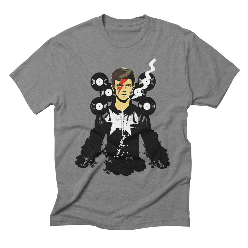 Star Man  Men's Triblend T-shirt by bansom12's Artist Shop