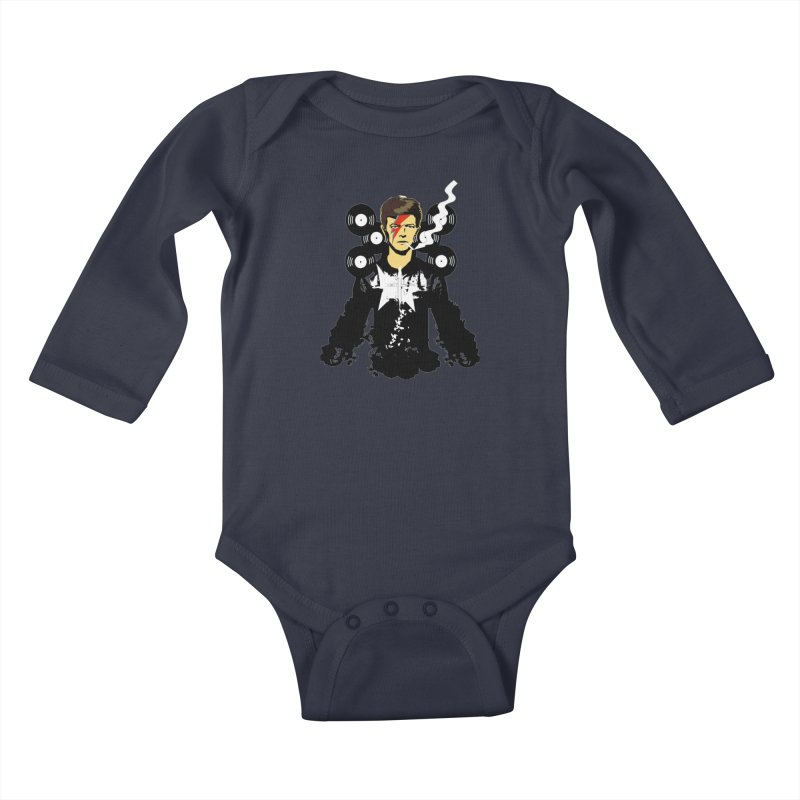 Star Man  Kids Baby Longsleeve Bodysuit by bansom12's Artist Shop