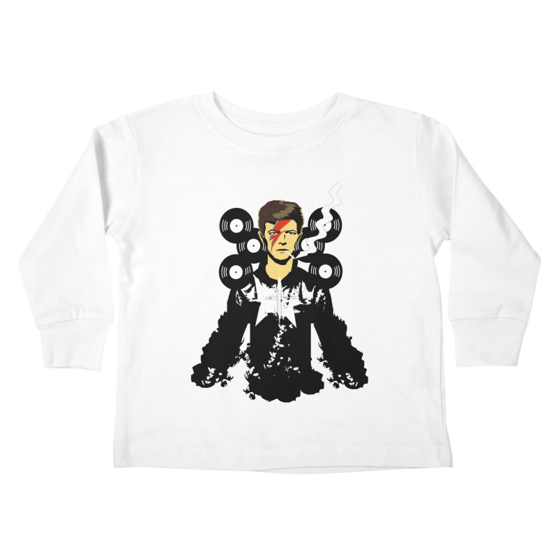 Star Man  Kids Toddler Longsleeve T-Shirt by bansom12's Artist Shop