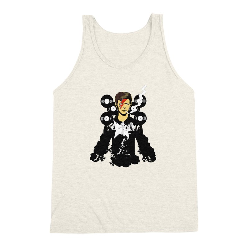 Star Man  Men's Triblend Tank by bansom12's Artist Shop