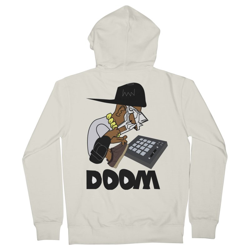doom on the keys  Men's Zip-Up Hoody by bansom12's Artist Shop
