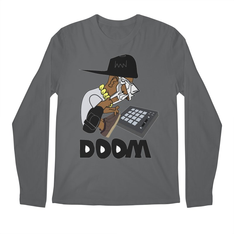 doom on the keys  Men's Longsleeve T-Shirt by bansom12's Artist Shop