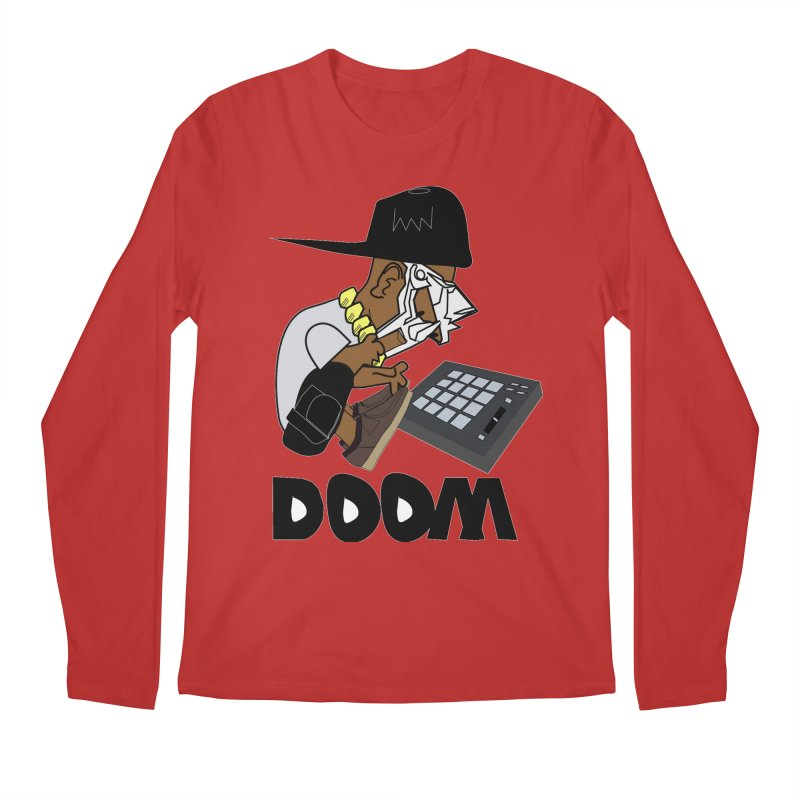 doom on the keys  Men's Longsleeve T-Shirt by bansom12's Artist Shop