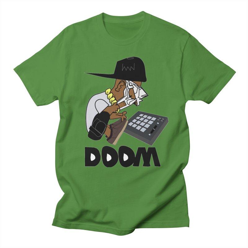 doom on the keys  Men's T-shirt by bansom12's Artist Shop
