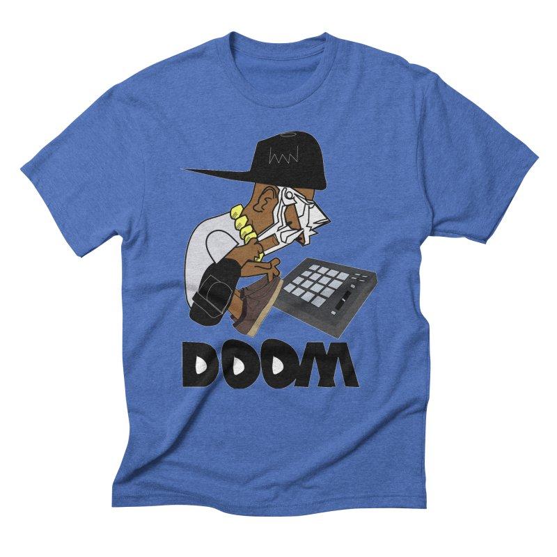 doom on the keys  Men's Triblend T-Shirt by bansom12's Artist Shop